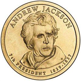 2008 P Jackson Presidential Dollar Choice Uncirculated