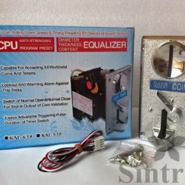 Advanced CPU Coin Selector Acceptor mech sorter and Timer Control Board for arcade Jamma game kit