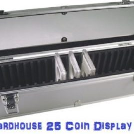 Aluminum Storage Box for 25 Universal Coin Slab Holders by Guardhouse by Guardhouse