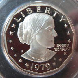 1979 S Susan B. Anthony Type 2 Proof Dollar Perfect Uncirculated